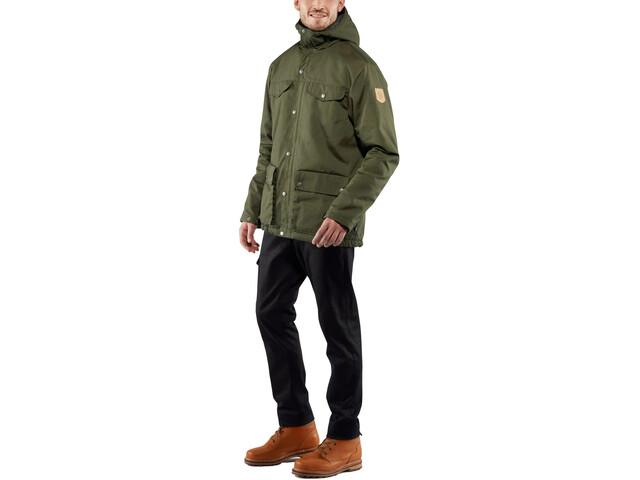 exquisiter Stil detaillierter Blick billiger Verkauf Fjällräven Greenland Winter Jacket Herren deep forest